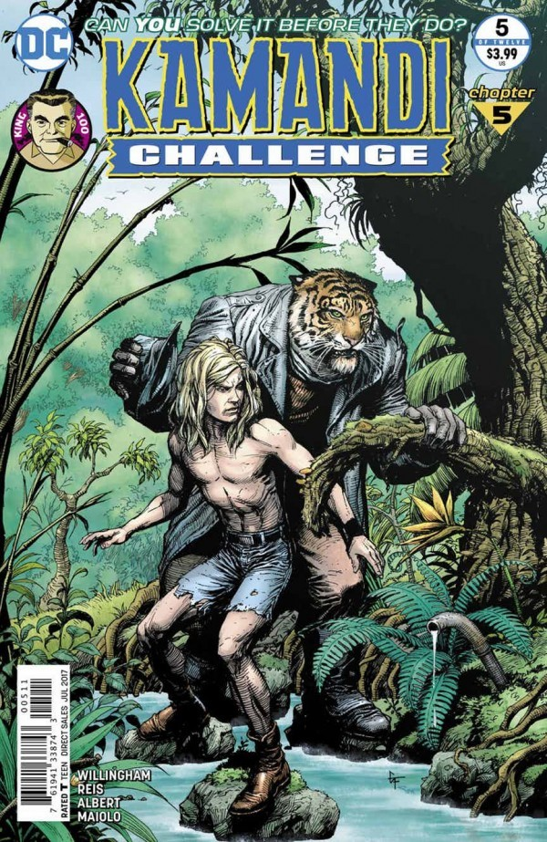 """Old Tiger"" – The Kamandi Challenge # 5 – Episode 75"
