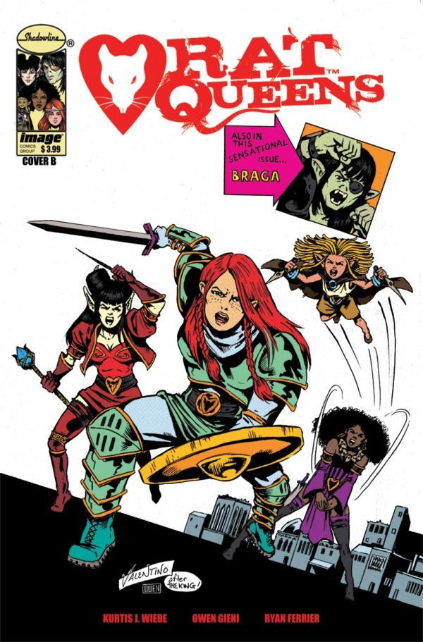 """Back in Black"" – Rat Queens #  – Episode 101"